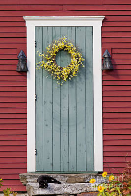 Photograph - Country Door by Alan L Graham