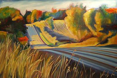 Country Drive Original by Sheila Diemert