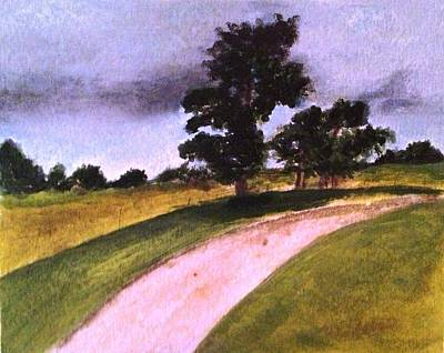 Painting - Country Driveway by Andrea Friedell