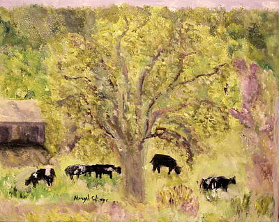Painting - Country Farm by Aleezah Selinger