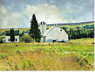 Photograph - Country Farm by Dianne  Lacourciere