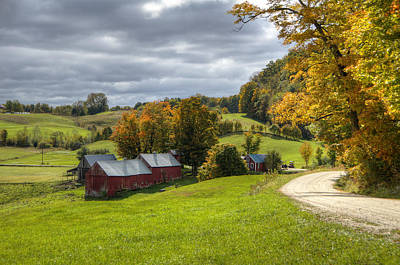 Dirt Roads Photograph - Country Farm by Donna Doherty
