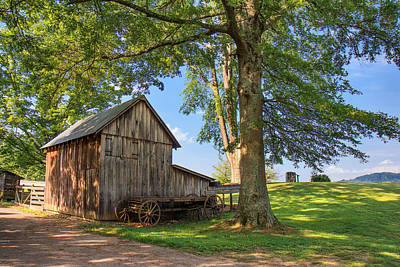 Photograph - Country Farm by Mary Almond