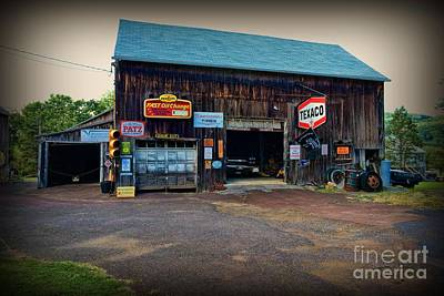 Auto Repair Photograph - Country Garage by Paul Ward