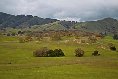 Photograph - Country Gilroy by SC Heffner