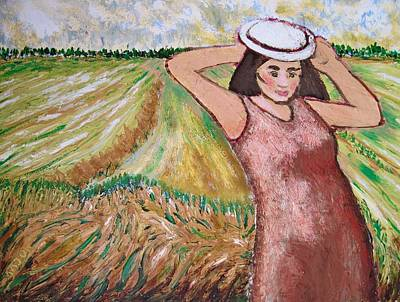 Painting - Country Girl by Clarence Major