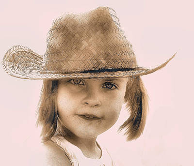 Photograph - Country Girl by William Griffin