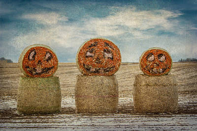 Country Halloween Art Print