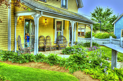 Anne Of Green Gables Photograph - Country Home Avonlea Village Cavendish Pei by Chris Miner