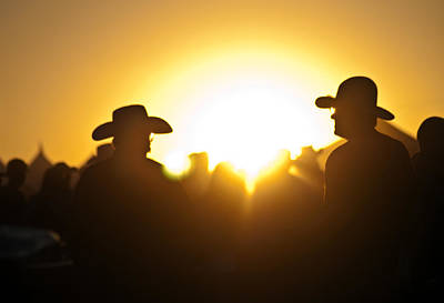 Photograph - Country Jam At Sunset by Eric Rundle