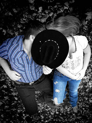 Photograph - Country Kissin by Kristie  Bonnewell