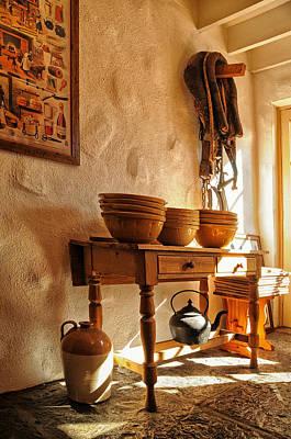 Irish Country Kitchen Art Print by Barbara Budzinski