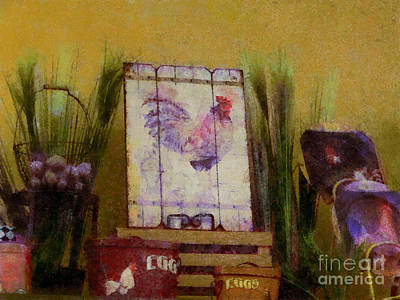 Painting - Country Kitchen Lll by Scott B Bennett