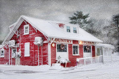 Photograph - Country Kitchen by Robin-Lee Vieira