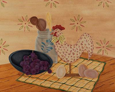 Painting - Country Kitchen by Tracy Campbell