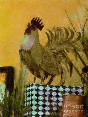 Painting - Country Kitchen V by Scott B Bennett