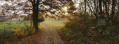 Lucille Ball - Country Lane in the Ozarks by Garry McMichael