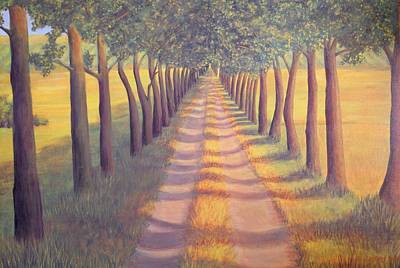 Painting - Country Lane by Sophia Schmierer