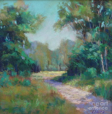 Painting - Country Lane by Virginia Dauth