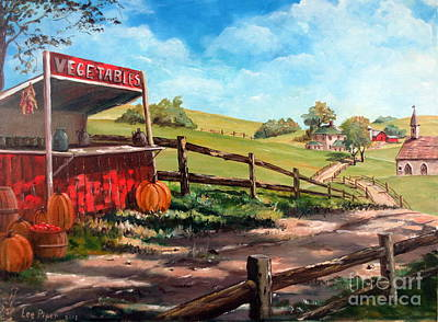 Country Life Art Print by Lee Piper