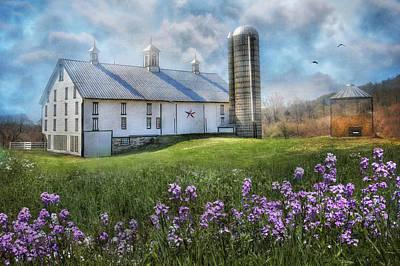 Barn Digital Art - Country Life by Lori Deiter
