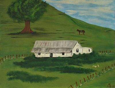 Painting - Country Life by Melanie Blankenship