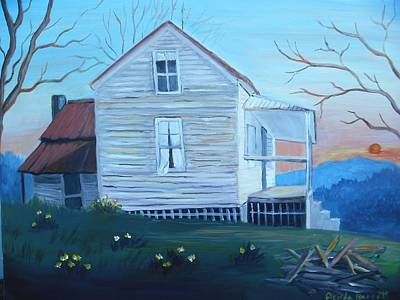 Painting - Country Living by Glenda Barrett