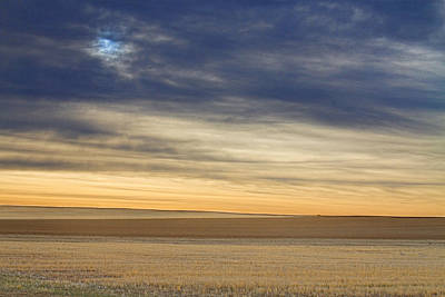 Farming Photograph - Country Morning Sky by James BO  Insogna
