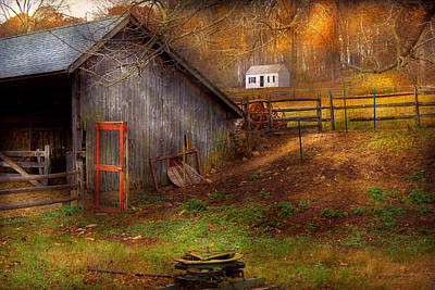 Photograph - Country - Morristown Nj - Rural Refinement by Mike Savad