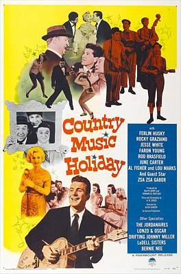 1950s Movies Photograph - Country Music Holiday, Us Poster by Everett