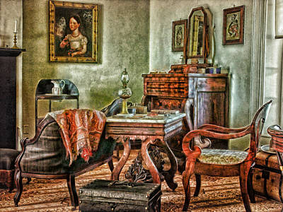 Photograph - Country  Parlor by Mary Almond