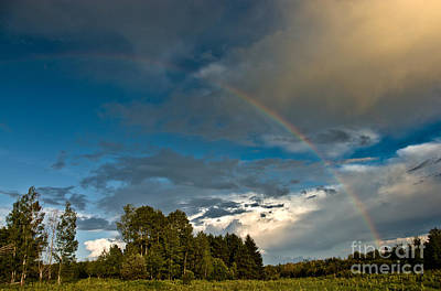 Photograph - Country Rainbow by Cheryl Baxter