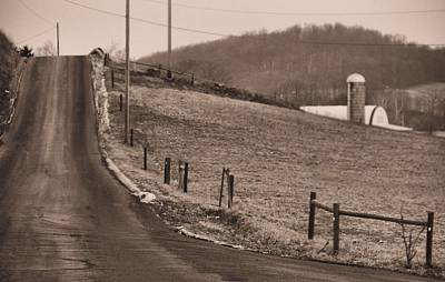 Old Country Roads Photograph - Country Road by Dan Sproul