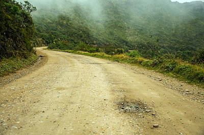 Country Road In Colombia Art Print by Jess Kraft