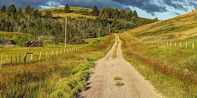 Photograph - Country Road by Jim Sauchyn