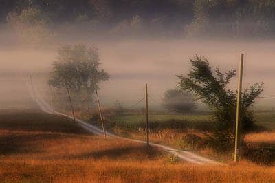 Country Road Art Print by Jim Vance