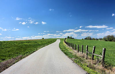 Photograph - Country Road by Kristin Elmquist