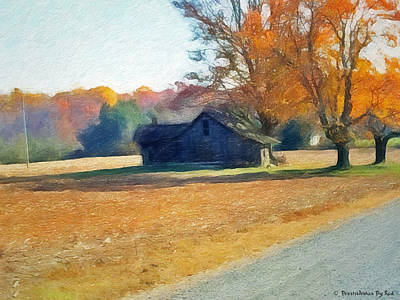 Painting - Country Road by Melody McBride