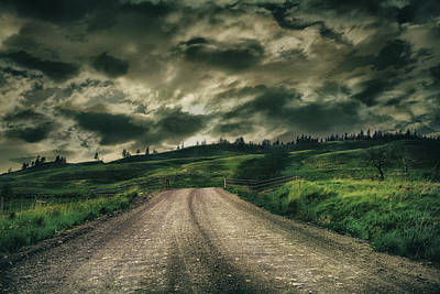 Country Road Art Print by Naman Imagery