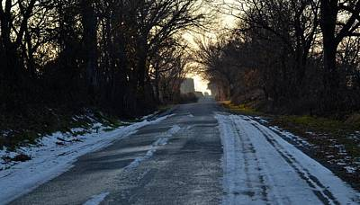 Photograph - Country Road by Ricardo J Ruiz de Porras
