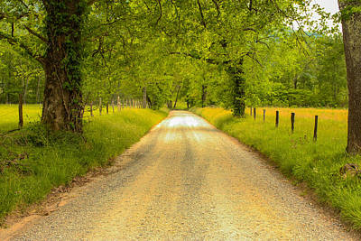Photograph - Country Road by Robert Hebert