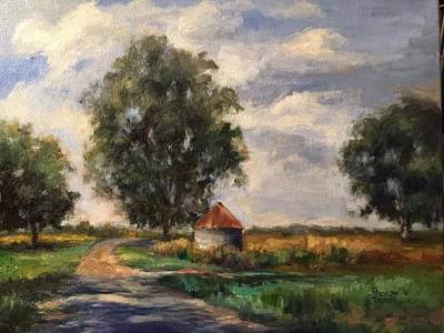 Painting - Country Road by Sharon Franke