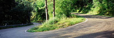 Country Road Southern Germany Art Print by Panoramic Images