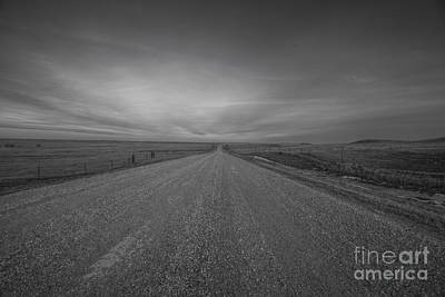 A Country Road Of South Dakota Art Print