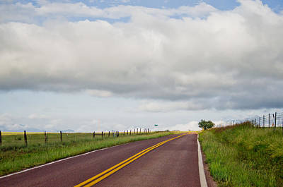Photograph - Country Road by Swift Family