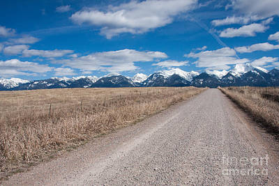 Art Print featuring the photograph Country Road Take Me Home by Katie LaSalle-Lowery