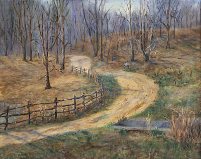 Painting - Country Roads by Frances Lewis