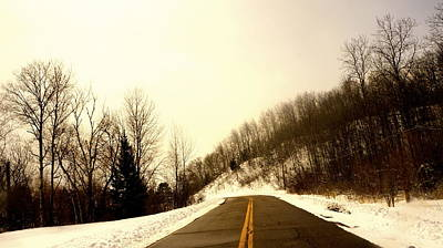 Photograph - Country Roads Take Me Home by Danielle  Broussard