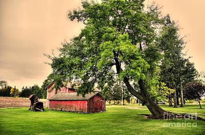 Kathleen Photograph - Country Scene by Kathleen Struckle