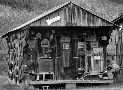 Log Cabins Photograph - Country Shack by Dan Sproul